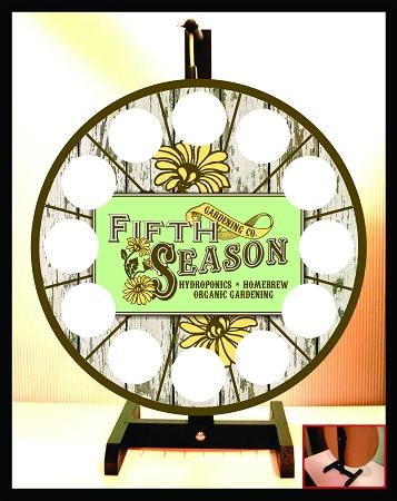 Fifth Season Hydroponics Home Brew Organic Gardening Prize Wheel